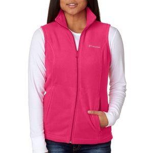 COLUMBIA pink Benton springs vest ✨💕
